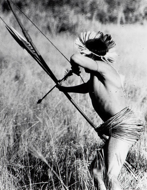Uru-Eu-Wau-Wau caçando. Foto: Jesco von Puttkamer, 1985.
