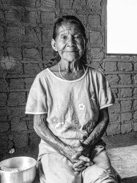 Catarina Pedrosa, Comunidade Cunuri, Rio Tiquié, TI Alto Rio Negro, AM. Abril de 2013. / Melissa Santana de Oliveira