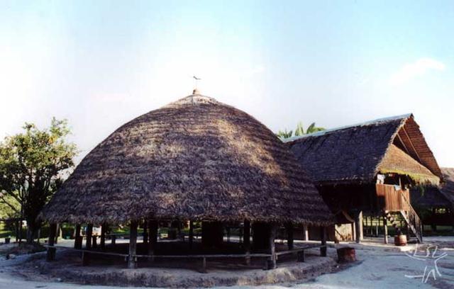 Tukusipam na aldeia Twemke, na Guiana Francesa. Foto: Paula Morgado, 2001.