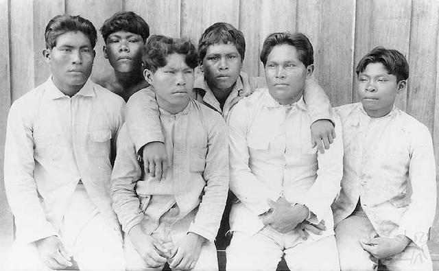 Posto Indígena do Seruiní. Foto: acervo Museu do Índio/SPI, 1930.