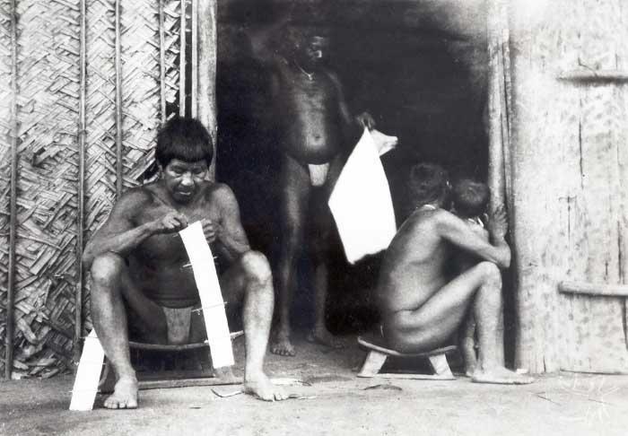 Índios Wanana. Foto: Curt Nimuendaju, década de 1930.