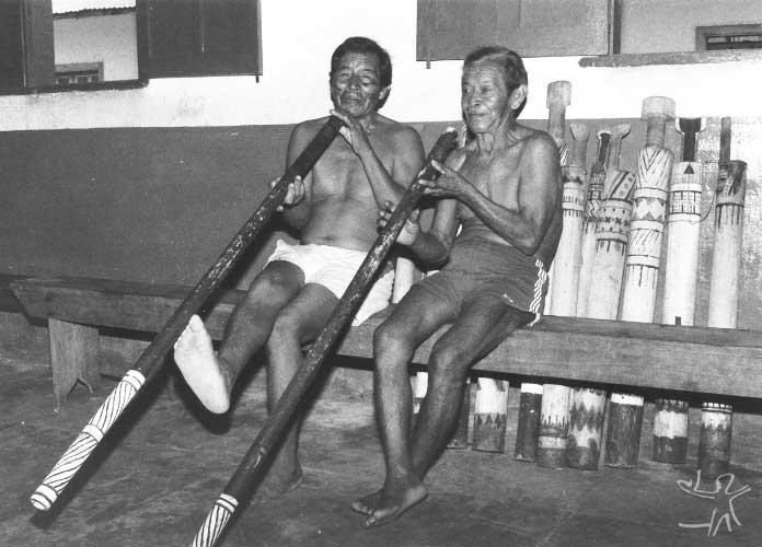 Índios Tukano. Foto: Renato Aguirre, 1988.
