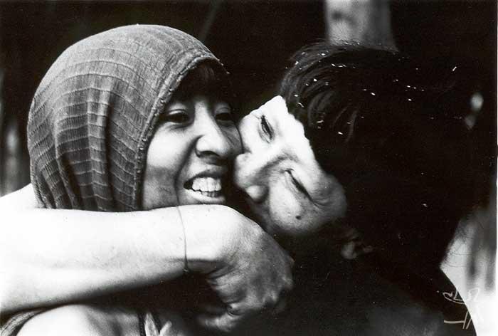 Casal araweté. Foto: Eduardo Viveiros de Castro, 1982.