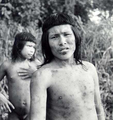 Gaviões do Rio Ipixuna. Foto: José Medeiros, 1957