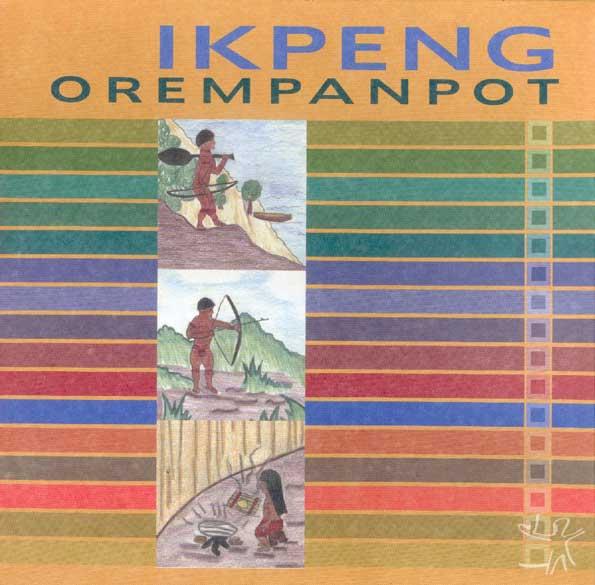 Capa da cartilha ikpeng. Desenho: Maiua Ikpeng, 2001