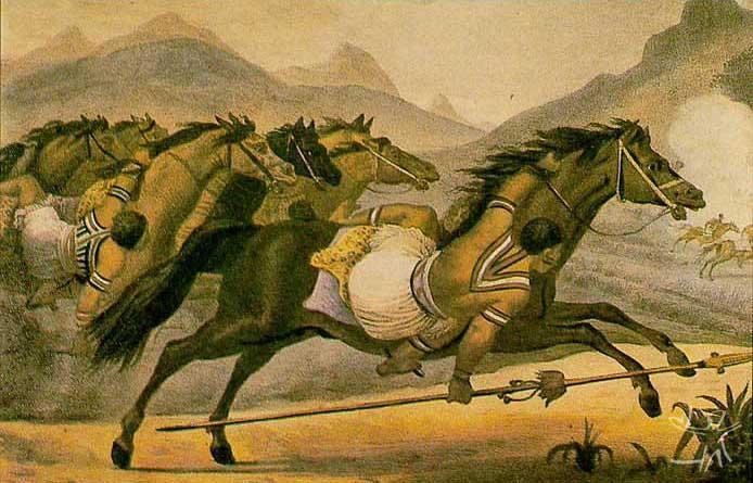 Desenho: J. B. Debret, 1834