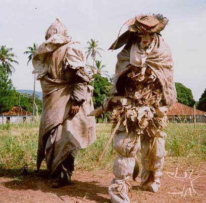 Bobos, ritual do navio. Foto: Mônica Pechincha, 1992