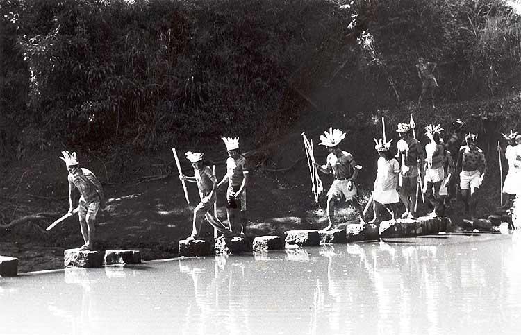 Kaingang de Ivaí (RS). Foto: Vilaine Capellari, 1994.
