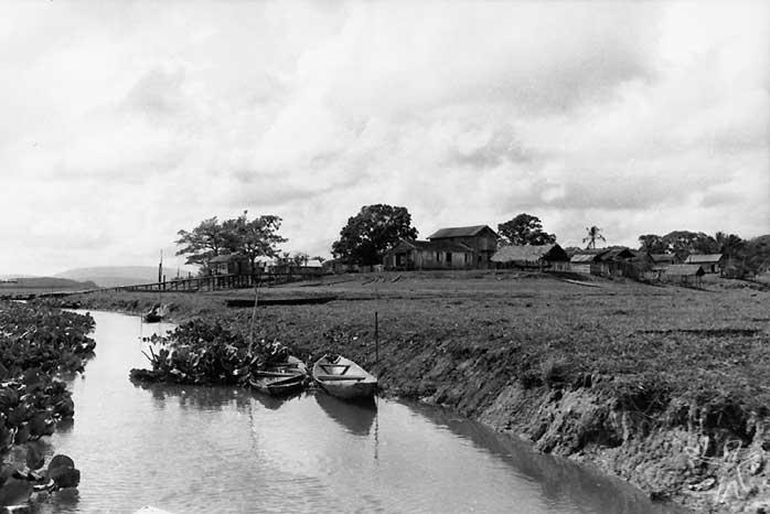 Vila de Santa Isabel. Foto: Vincent Carelli, 1982.