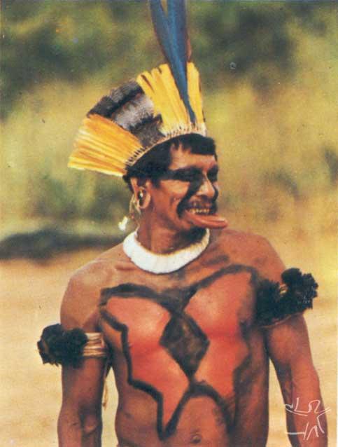 Petxi, um Wauja raptado pelos Suyá. Foto: Anthony Seeger, 1979.