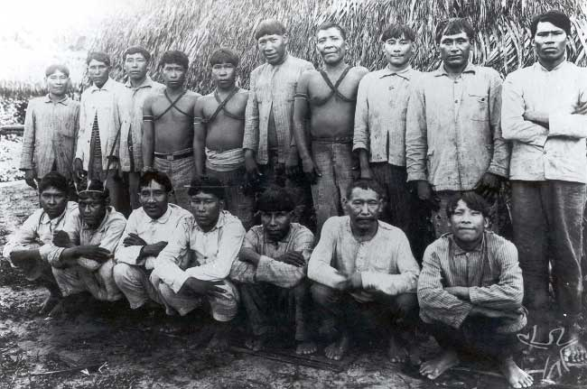 Kulina do Posto Indígena Rio Gregório. Foto: Acervo Museu do Índio, 1928.