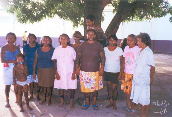 Mulheres Kuruaya e Xipaia. Foto: Marlinda Melo Patrício, 1999
