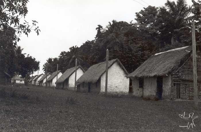Aldeia Munduruku. Foto: Protassio Frikel, década de 1950.