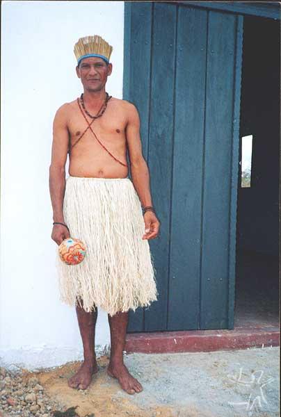 Edmilson da Silva. Foto cedida por Ivone Gomes, final da década de 1990.