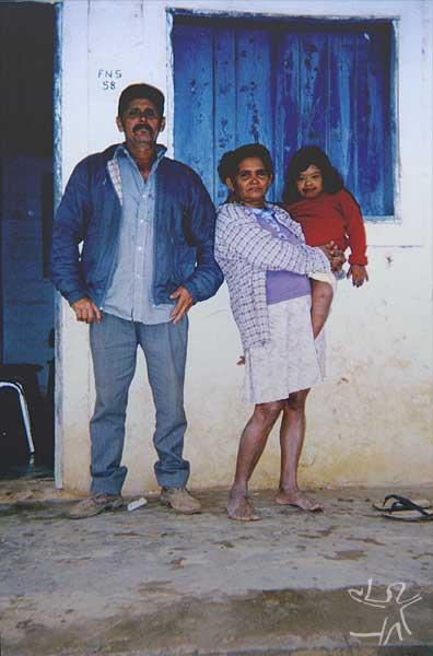 Severino Matias de Oliveira e Rosália Pankaru. Foto: Ely Souza Estrela, 1999.