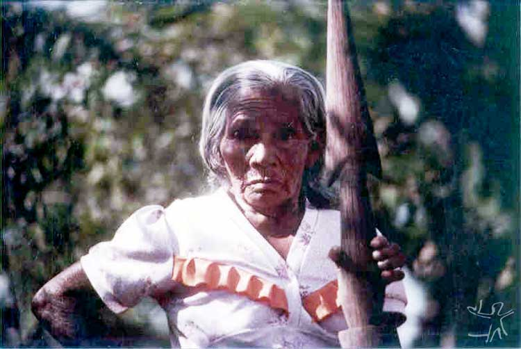 Bahetá, Pataxó Hãhãhãe woman. Photo: CPI-SP archive, 1982