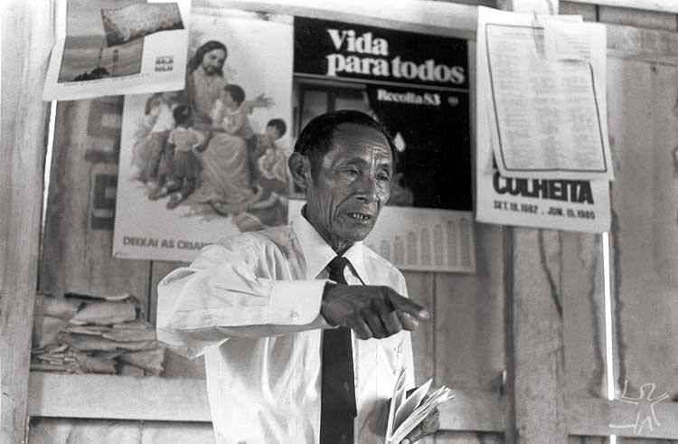 Pastor Taurepang. Foto: Eliane Motta, 1984.