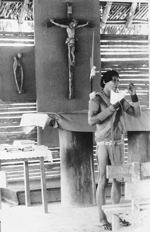 Pastor Tiriyó. Foto: Henri Stahl, 1978