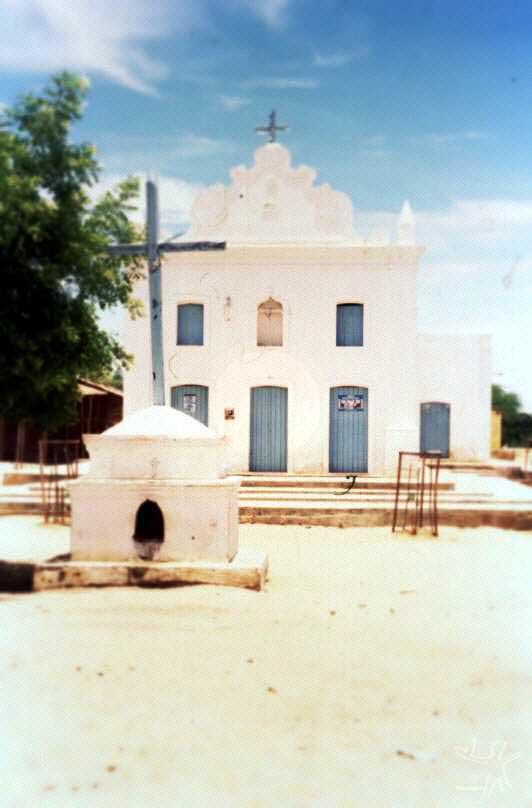 Igreja de Santo Antônio do Pambú (século XVII), centro da antiga missão. Foto: Ugo Maia, 2001.