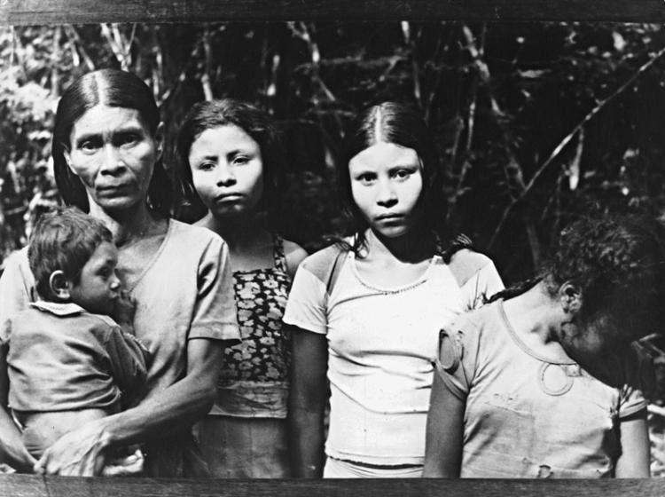 Mulheres Xakriabá, aldeia Sapé, 1985