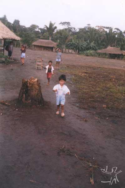 Aldeia Tukamã. Foto: Marlinda Melo Patrício, 2000.