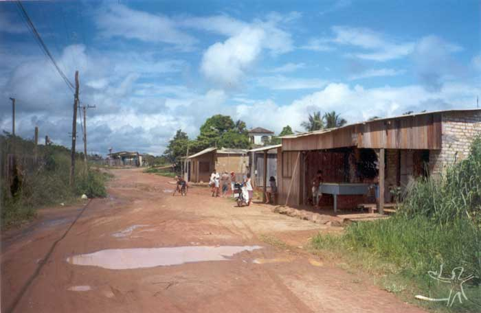 São Sebastião district in Altamira. Photo: Marlinda Melo Patrício, 1999.