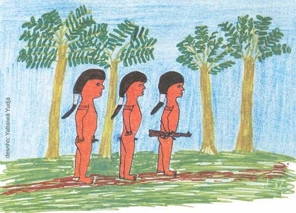 Desenho: Yabaiwá Yudjá, 1998.