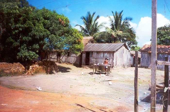 Bairro São Sebastião. Foto: Marlinda Melo Patrício, 1999