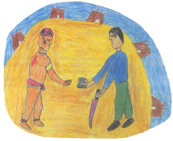 Desenho: Makaulaka Mehinaku