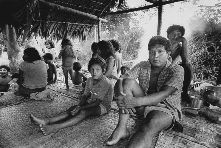 Rio Japurá. Foto: Michel Pellanders, 1987