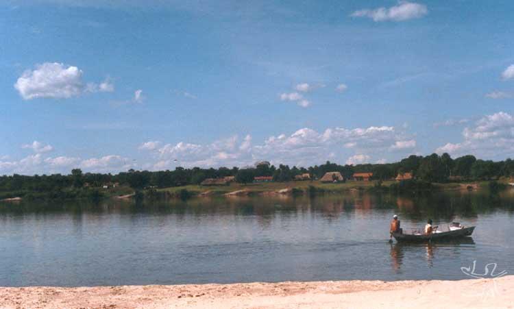 Posto Indígena Diauarum, na região norte do Parque. Foto: Camila Gauditano, 2002.
