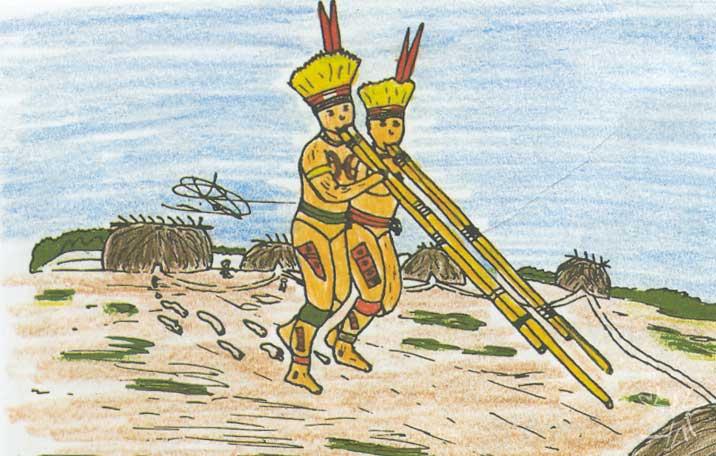 Drawing: Kanawajuri Kamajura, 1998