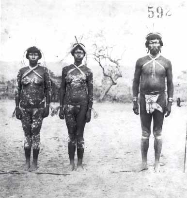 Rito do Tepjarkwa na aldeia do Escalvado. Foto: Curt Nimuendaju, 1931.