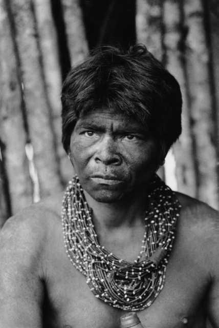Índio Nambikwara do Campo, aldeia Juina. Foto: Vincent Carelli, 1979