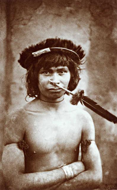 Índio Nambikwara. Sem crédito