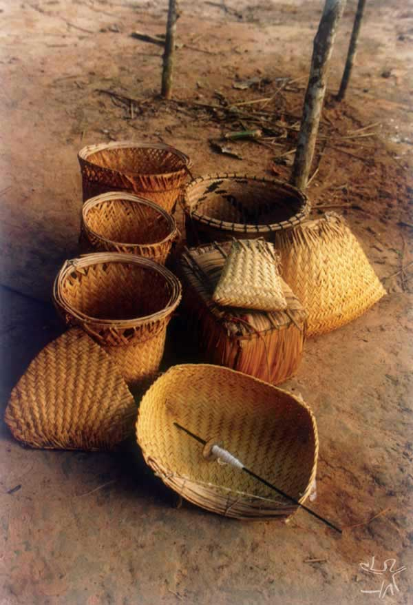 Cestaria yudjá. Foto: Simone Athaíde, 1999.