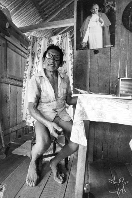 Geraldo Lod. Foto: Vincent Carelli, 1982