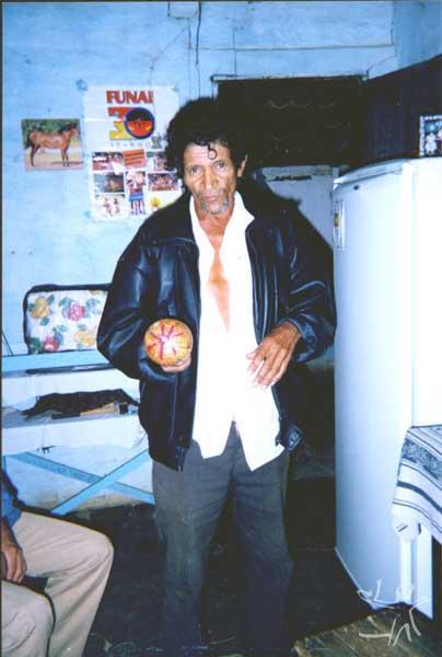 Alfredo José Pankaru. Foto: Ely Souza Estrela, 1999