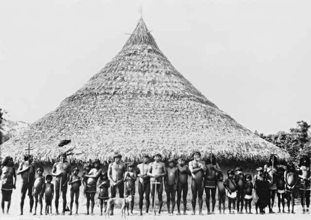 Índios Wapishana. Foto: Museu Nacional, s/d