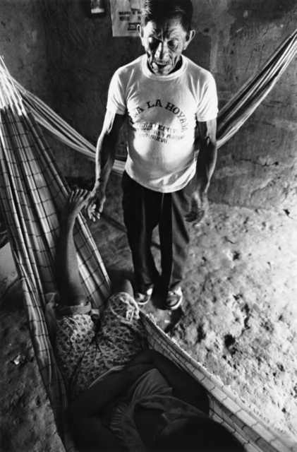 Pajelança Wapishana, Terra Indígena Serra da Moça. Foto: Vincent Carelli, 1986