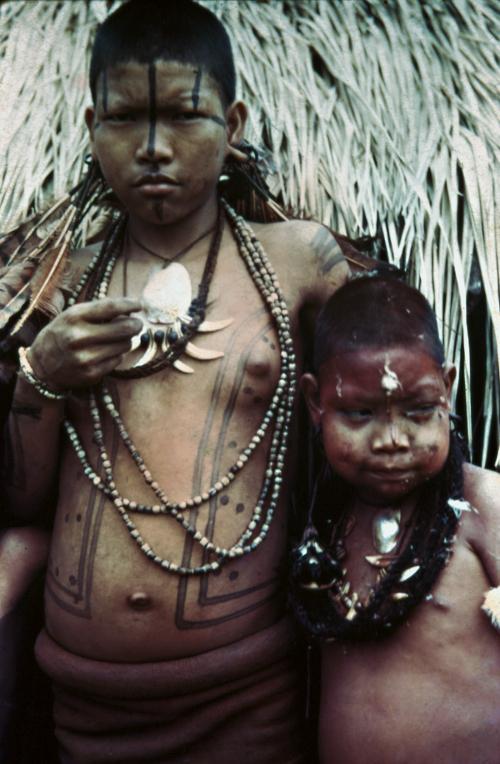 Índios Umutina, Alto Paraguai, Mato Grosso. Foto: Harald Schultz, 1943/44/45