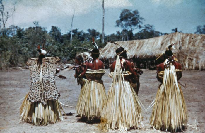 Ritual Umutina, Alto Paraguai, Mato Grosso. Foto: Harald Schultz, 1943/44/45