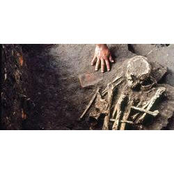Detalhe de escavação.