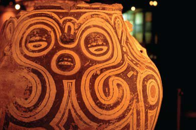 Urna funerária Marajoara. Foto: Maurício de Paiva/Entorno