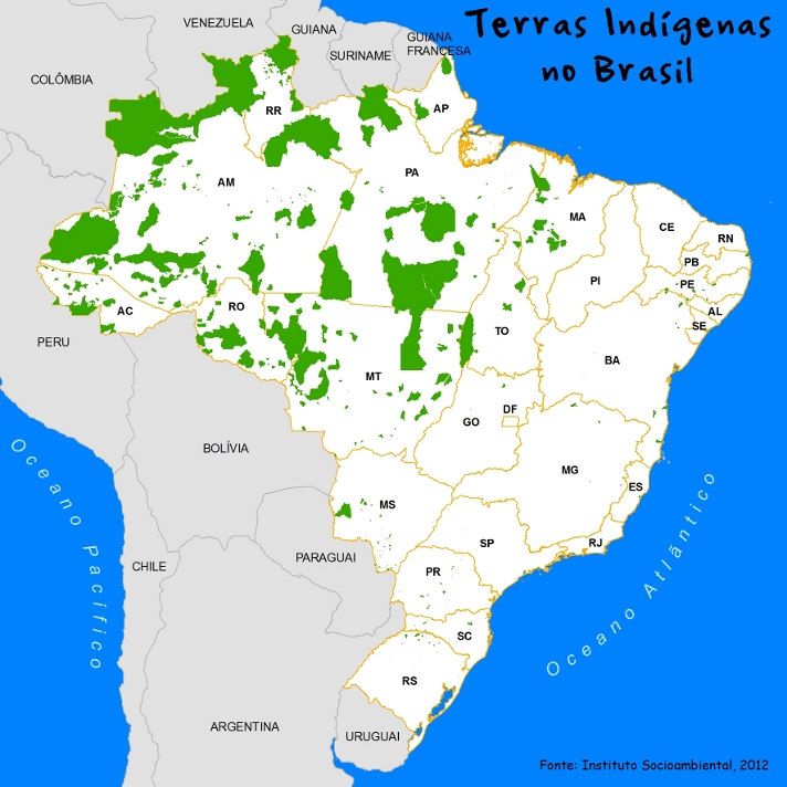 Source: Instituto Socioambiental, 2012.