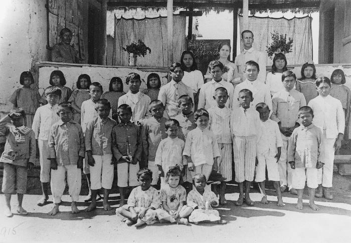 Índios Pareci, Terra Indígena Utiariti, Mato Grosso. Foto: Museu do Índio, 1922