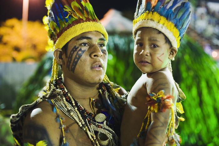 VIII Festa Nacional do Índio. Foto: Tatiana Cardeal, 2008