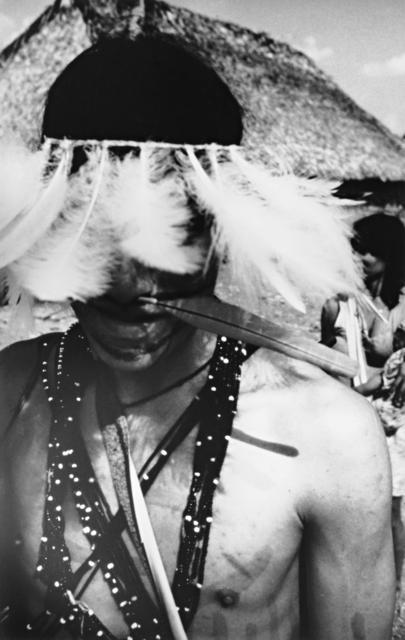 Guerreiro Zoró, Terra Indígena Zoró, Mato Grosso. Foto: Gilio Brunelli, 1985