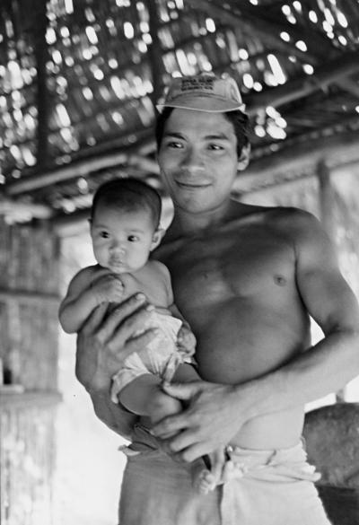 Kaxarari, Rio Azul, Terra Indígena Kaxarari. Foto: Terri Vale de Aquino, 1981