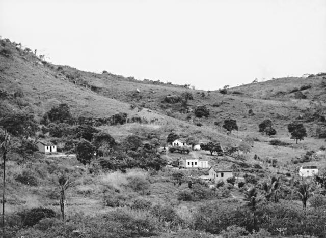 Aldeia São José do povo Xukuru, município de Pesqueira, Pernambuco. Foto: Aderbal Brandão Gomes de Sá, 1980